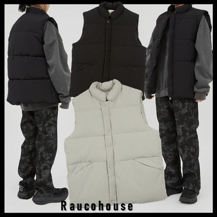 Raucohouse Unisex Street Style Down Jackets
