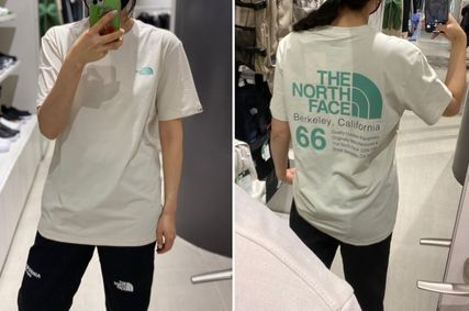 THE NORTH FACE More T-Shirts Unisex Logo Outdoor T-Shirts 2
