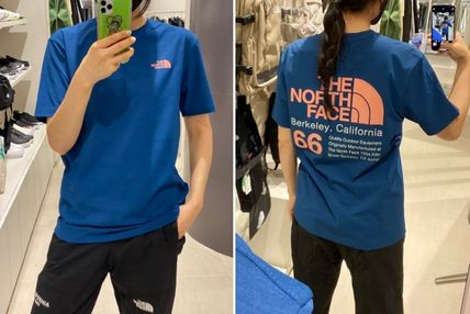 THE NORTH FACE More T-Shirts Unisex Logo Outdoor T-Shirts 3