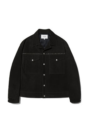 vivastudio Unisex Collaboration Biker Jackets