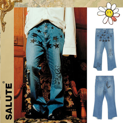 SALUTE More Jeans Unisex Street Style Jeans