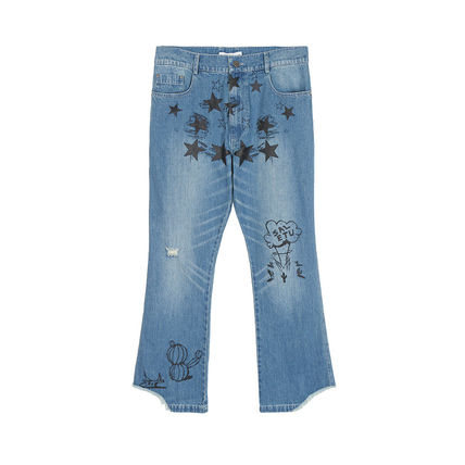 SALUTE More Jeans Unisex Street Style Jeans 3