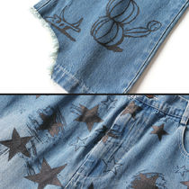 SALUTE More Jeans Unisex Street Style Jeans 6