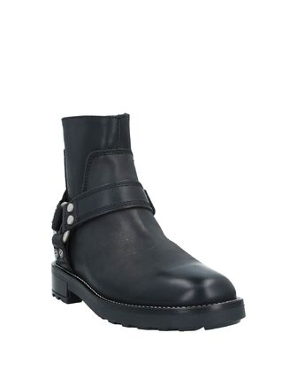 DIESEL Street Style Leather Logo Engineer Boots