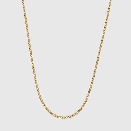 CRAFTD London Unisex Street Style Chain Handmade Silver 18K Gold Stainless