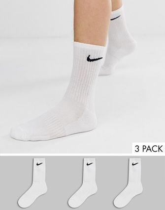 Nike Unisex Plain Cotton Co-ord Logo Undershirts & Socks