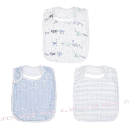 aden+anais Co-ord Baby Boy Bibs & Burp Cloths