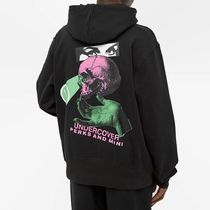 UNDERCOVER Hoodies Pullovers Skull Unisex Street Style Collaboration 6
