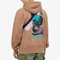 UNDERCOVER Hoodies Pullovers Skull Unisex Street Style Collaboration 12