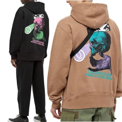 UNDERCOVER Hoodies Pullovers Skull Unisex Street Style Collaboration