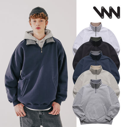 WV PROJECT More Tops Unisex Street Style Oversized Tops