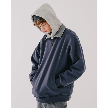 WV PROJECT More Tops Unisex Street Style Oversized Tops 3