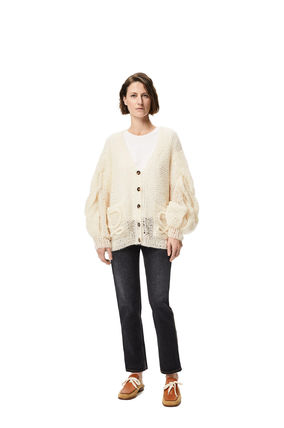 LOEWE Cable Knit Casual Style Plain Party Style Office Style