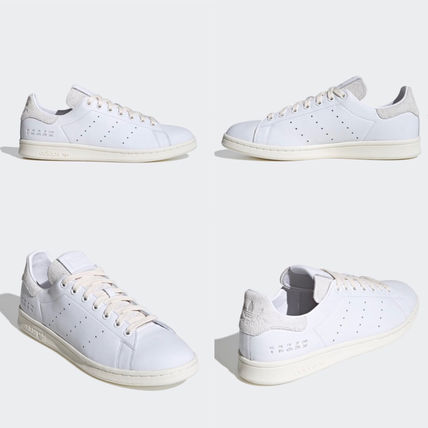 adidas STAN SMITH Casual Style Unisex Street Style Plain Leather Logo