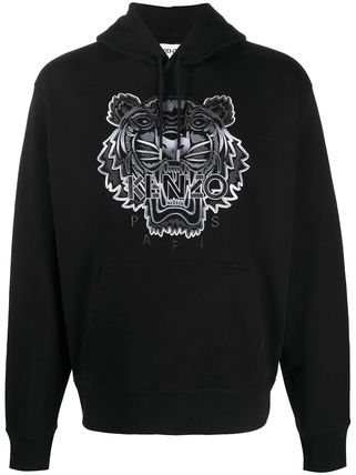 KENZO Pullovers Street Style Long Sleeves Other Animal Patterns