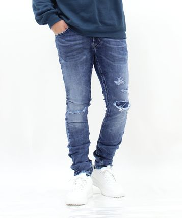 DIESEL JOGG JEANS Denim Street Style Plain Cotton Pants