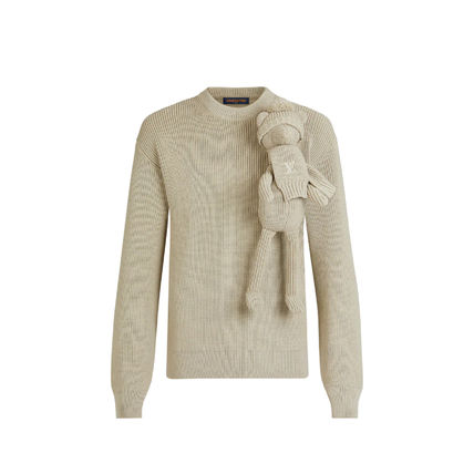 Louis Vuitton Sweaters Crew Neck Pullovers Unisex Street Style Long Sleeves Plain 2