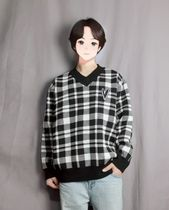 Sweaters Unisex Street Style Long Sleeves Sweaters 5
