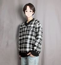 Sweaters Unisex Street Style Long Sleeves Sweaters 6