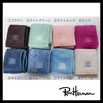 Ron Herman Unisex Plain Cotton Handkerchief