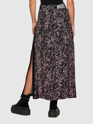 DIESEL Flared Skirts Flower Patterns Casual Style Blended Fabrics