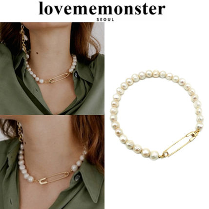 LOVE ME MONSTER Casual Style Unisex Street Style Party Style Office Style
