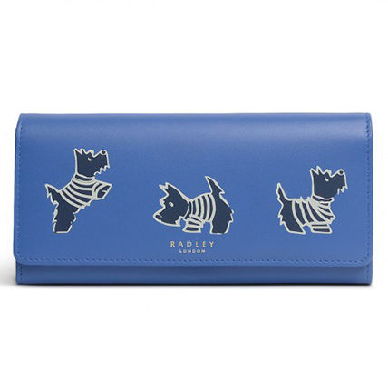Street Style Other Animal Patterns Leather Long Wallet  Logo