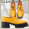 Platform Round Toe Rubber Sole Casual Style Street Style