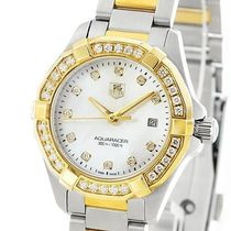 TAG Heuer Round Quartz Watches Divers Watches 18K Gold Stainless