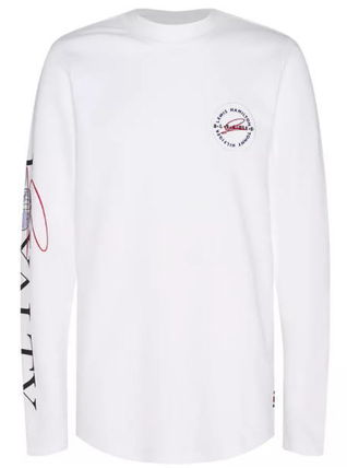 Tommy Hilfiger Long Sleeve Crew Neck Long Sleeves Logos on the Sleeves