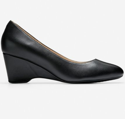 Cole Haan Casual Style Plain Leather Party Style Office Style