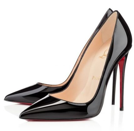 Christian Louboutin So Kate Plain Leather Pin Heels Party Style Office Style