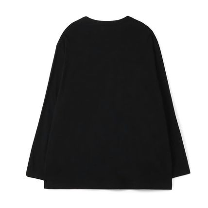 Yohji Yamamoto Crew Neck Unisex Long Sleeves Plain Cotton