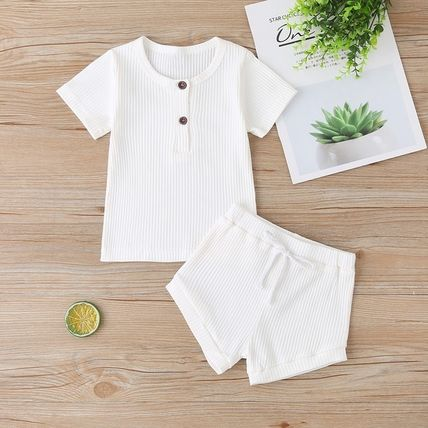 PatPat Co-ord Unisex Street Style Baby Girl Tops