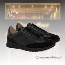 Gianvito Rossi Suede Leather Sneakers