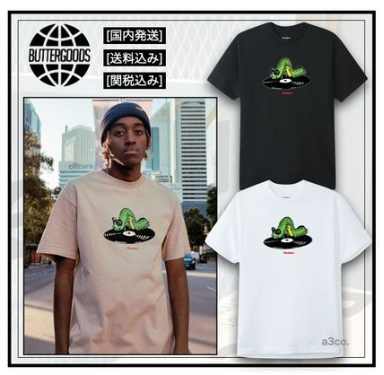 Butter Goods More T-Shirts Street Style Cotton Short Sleeves Logo T-Shirts