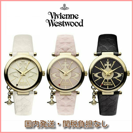 Vivienne Westwood Casual Style Round Quartz Watches Office Style