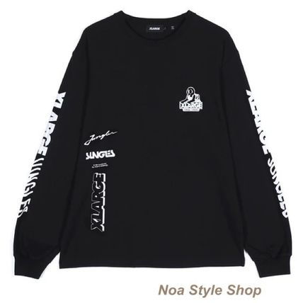 X-Large Long Sleeve Street Style Collaboration Long Sleeves Long Sleeve T-shirt