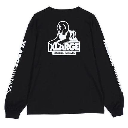 X-Large Street Style Collaboration Long Sleeves Long Sleeve T-shirt
