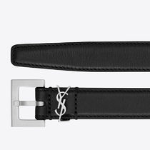 Saint Laurent Casual Style Street Style Leather Office Style Formal Style