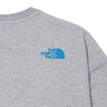 THE NORTH FACE Sweatshirts Crew Neck Pullovers Unisex Street Style U-Neck Long Sleeves 5