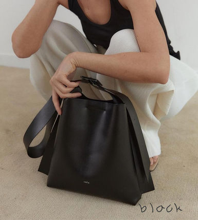 Casual Style Plain Office Style Elegant Style Totes