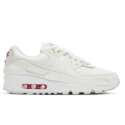 Nike AIR MAX 90 Heart Unisex Plain Leather Low-Top Sneakers
