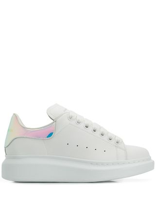 alexander mcqueen Formal Style  Logo Rubber Sole Casual Style Leather