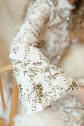 Long Sleeves Long Lace Elegant Style Formal Style  Dresses