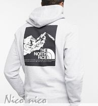 THE NORTH FACE Hoodies Street Style Long Sleeves Cotton Logo Outdoor Hoodies 8