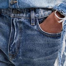 424 on Fairfax More Jeans Denim Street Style Plain Cotton Logo Jeans 7