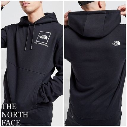 THE NORTH FACE Hoodies Pullovers Unisex Blended Fabrics Street Style Long Sleeves
