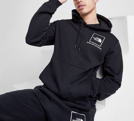 THE NORTH FACE Hoodies Pullovers Unisex Blended Fabrics Street Style Long Sleeves 3