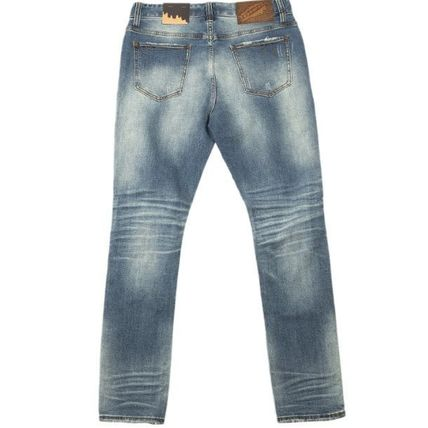 Billionaire Boys Club More Jeans Denim Street Style Plain Cotton Logo Jeans 2